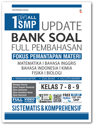 Buku One For All Update Bank Soal SMP