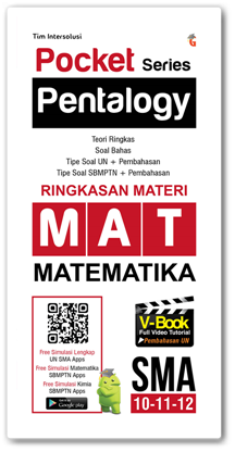 Genta Smart Publisher Pocket Pentalogy Series Ringkasan Materi Matematika Sma