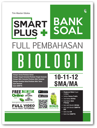 Buku Smart Plus Bank Soal Biologi SMA/MA