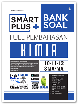 Buku Smart Plus Bank Soal Kimia SMA/MA