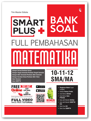 Buku Smart Plus Bank Soal Matematika SMA/MA