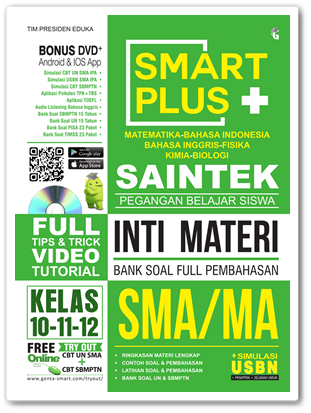 Buku Smart Plus SAINTEK SMA/MA
