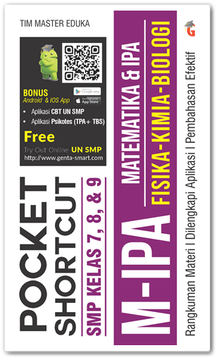 Buku Pocket Shortcut SMP MIPA