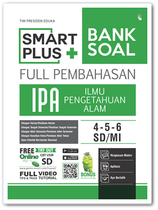 Buku Smart Plus Bank Soal IPA SD
