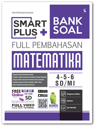 Buku Smart Plus Bank Soal Matematika SD